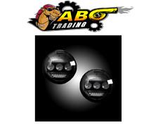 Recon For 15-18 Silverado / Sierra 1500 2500 3500 Smoke LED Fog Light- 264521BK