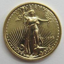 1998 $5 Five Dollar Gold American Eagle Coin 1/10oz .10