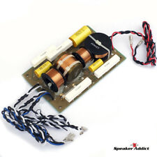 LX-1515V3 Pro Speaker Passive Crossover Quasi 2way Dual Woofer, Horn, EQ, Bulb