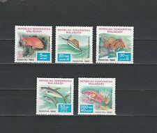 Madagascar   faune  poissons  1982   num: 678/82  **