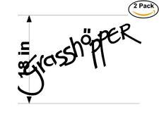 Grasshopper 2 Stickers 18 inches Sticker Decal