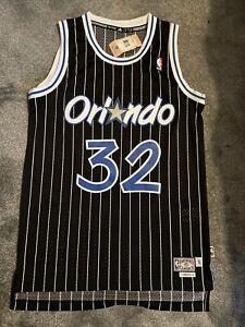 Shaquille O'Neal Orlando Magic Soul Swingman Hardwood Classic NBA Jersey New
