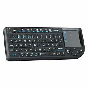 Rii 2.4G Mini Wireless Keyboard with Touchpad Mouse,Lightweight Portable...