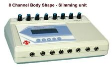 Slimming Unit Electrotherapy 8 Ch 16 Electrodes  INCH LOSS FAT LOSS LIFTING