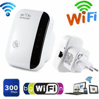 300Mbps Wireless-N AP Range 802.11 Wifi Repeater Signal Extender Booster EU LA