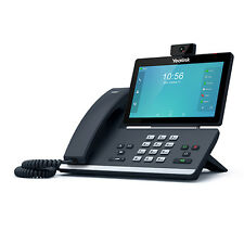 """Yealink SIP-T58V 16 Line VoIP IP Smart Phone 7"""" Touch LCD BT WF Giga PoE CAM50"""
