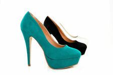 High (3 in. and Up) Party Platforms & Wedges Synthetic Heels for Women