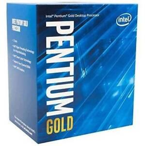 Intel Pentium Gold G6400 Dual-Core Comet Lake Processor 4.0GHz 8GT/s 4MB LGA