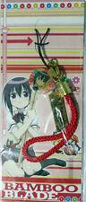 Bamboo Blade Metal Charm Phone Strap Anime Manga Licensed NEW