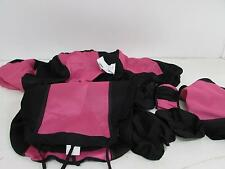 CAR PASS RAINBOW Universal Fit Car Seat Cover, 14 pcs Rose Pink zt-0022