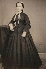 VICTORIAN TEENAGE GIRL, TAX REVENUE STAMP., C.1865, CDV PHOTO