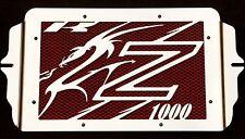 "cache / Grille de radiateur inox Kawasaki Z1000 03>06 ""Dragon"" + grill. orange"