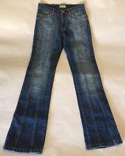Poca Women's Studded/Embroidered Rhinestone Denim Jeans With Attitude - Size 3
