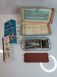 In Box ROLLS RAZOR London Viscount Model, Razor Shield Intact, All Paperwork