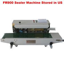 Fr900 Automatic Horizontal Sealing Machine Continuous Plastic Bag Band Good Item