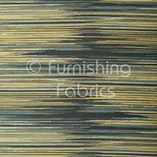 Azul y Blanco con rayas Viscosa Tela vendido por el medidor
