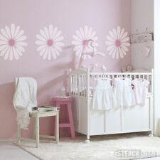 Daisy Flower Home Decor Wall Furniture Craft DIY Stencil The Stencil Studio