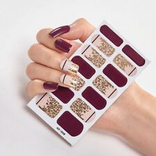 Manicure Fashion Nail Polish Self Adhesive Nail Sticker Decoration Foil Designer