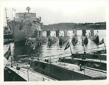 1936 WWII Germany's Sea Mother and U-Boat Children Original News Service Photo