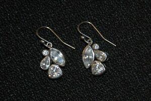 """SILPADA - W2781 - Cubic Zirconia Sterling Silver """"Fancy That"""" Earrings - RET"""