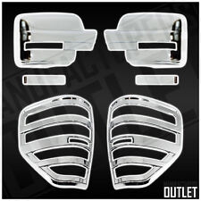 2009-2014 Ford F-150 Chrome Mirror Taillight Cover Trim