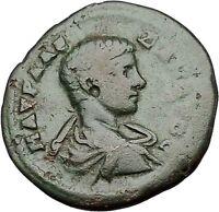 SEVERUS ALEXANDER as CAESAR Rare 222AD Odessos Thrace Ancient Roman Coin i50886
