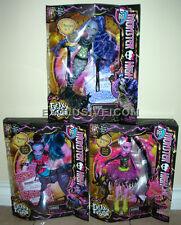 Monster High Freaky Fusions Hybirds Lot Avea Trotter Sirena Von Boo Bonita Femur