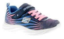 Scarpe blu sintetici marca Skechers per bambine dai 2 ai 16 anni