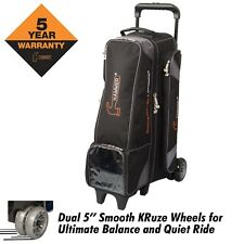 Hammer 4 Ball Premium INLINE Bowling Bag Color Black/Carbon New Design