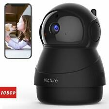 2021 New-Victure 1080P Wi-Fi Camera, Baby Monitor with Camera, 2.4GHz Home