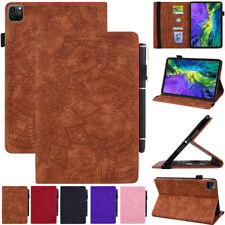 Leather Folio Stand Case Cover Wallet For Apple iPad Pro 11 12.9 inch 2021 2020