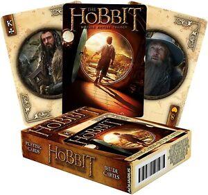 The Hobbit Conjunto De 52 Jugar Tarjetas + Bromistas (NM)
