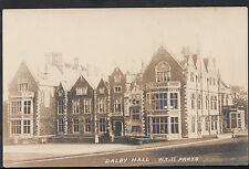 Leicestershire Postcard - Dalby Hall  A5500