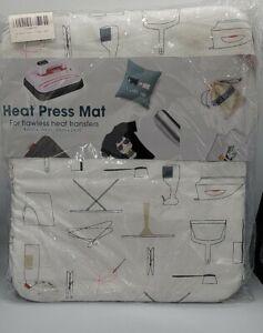 "-EasyPress Mat: (8""x10"") Protective Heat Resistant Mat *NEW*"