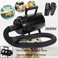 2800W Pet Cat Grooming Dog Hair Dryer Blaster Heater 2Speed Dual Mounted Leg