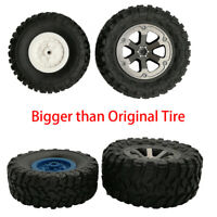 HK- 1/16 RC Off-Road Car Buggy Rubber Tyre Tires Wheel Rim for WPL B-14 JJRC FY0