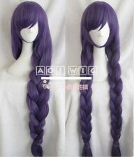 Love Live! Tojo Nozomi Purple Pigtail Thicken Anime Costume Cosplay Wig