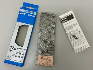 Shimano XTR CN-M9100 12-speed Bicycle Chain (Silver) -126 Links