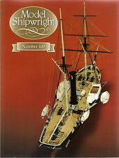 Model Shipwright No 100  (Conway 1997 1st) with Modellers Draught plan