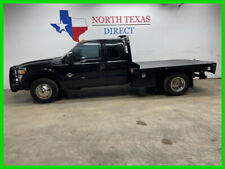 2015 Ford F 350 Xlt Diesel Flatbed 6 Passenger Towing Ranch Hand