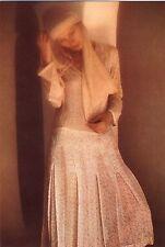 Postkarte Spanien David Hamilton Mädchen girl bzw Frau femme blonde Mode fashion
