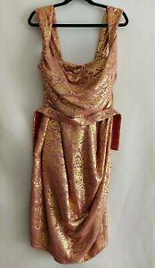 Vivienne Westwood Red Label DNA Lamé Corset Evening Wedding Party Dress