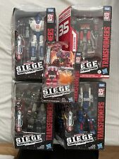 Transformers War for Cybertron Siege Lot Of 5 NIB, LOOK!!!