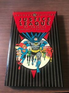 NEW UNREAD D.C.  ARCHIVES  JUSTICE LEAGUE OF AMERICA  VOLUME 1  HARDCOVER