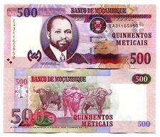 MOZAMBIQUE 500 METICAIS 2011 P-147b UNC