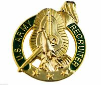US Army Recruiter Hat or Lapel Pin H15246D3