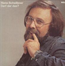 """12"""" LP Hans Scheibner Darf der das? (Verkehrte Welt, Der Butt) 70`s RCA"""