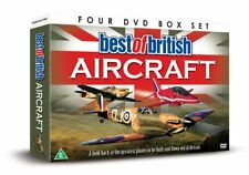 Greatest Planes BEST OF BRITISH AIRCRAFT DVD Harrier Red Arrows Spitfire Vulcan