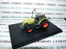 G Tracteur 1/43 universal Hobbies n° 58 : CLAAS NECTIS vigneron 257F 2004