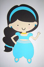 Princess Jasmine Aladdin Paper Doll Die Cut Scrapbook Embellishement